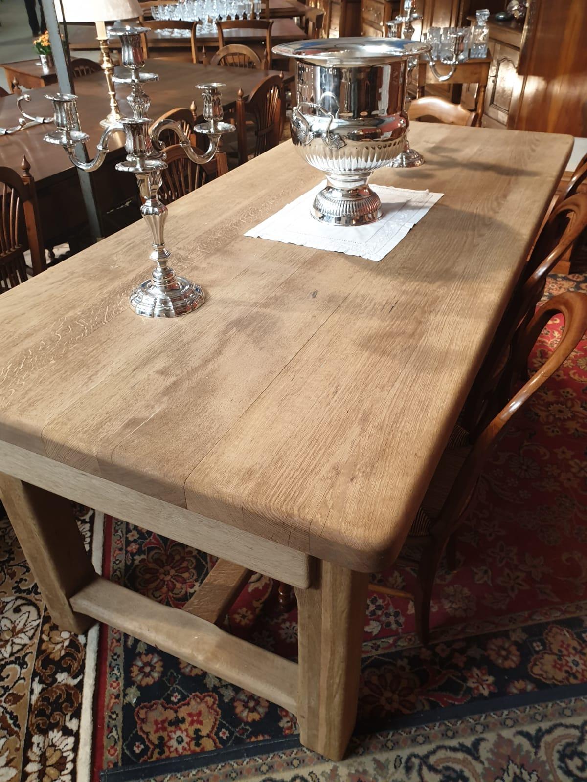 Tables rectangulaires   Table de ferme, antiquaire Le Merlerault ...